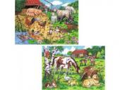 Sestavljanka Preprosta kmetija